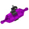 Purple Aluminum 1/8,1/10 fuel filter w/ copper filter