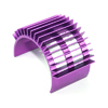 Purple Aluminum Motor Heat Sink(for 540,550,560 motor) [52505P]
