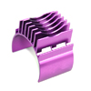 Purple Aluminum Motor Heat Sink(for 540,550,560 motor) [52506P]