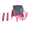 Red Aluminum Motor Heat Sink w/ adjustable fan (top) [52516R]