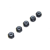 Black Aluminum 4mm Lock Nut