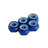 Blue Aluminum 5mm Lock Nut