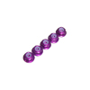 Purple Aluminum 2mm Flanged Lock Nut