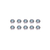 M3 Iron Lock Nuts(10pcs)