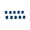 Blue Aluminum Throttle Collars 10PCS