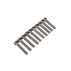 M3*16 Stainless Steel Flat Head Hex Screws(10pcs)
