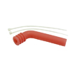 Red 1/10 Silicone exhaust pipe deflector
