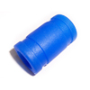 Blue 1/8 silicone exhaust coupler
