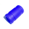 Navy 1/8 silicone exhaust coupler
