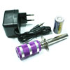 Purple Aluminum Glow Starter(w/ sc battery & charger)