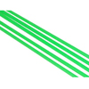 Fluorescent Green Tie Rod Sleeves(5PCS)-Ø3.8*Ø2.3*1000mm