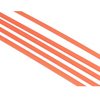 Fluorescent Orange Tie Rod Sleeves(5PCS)-Ø3.8*Ø2.3*1000mm [53570O]