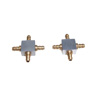 Aluminum 4-faucet Air Couplers for Retract(1Pair) [11394]