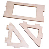 Throttle Servo Mounting Plate for 50cc Airplane(1set)