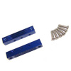 Blue Aluminum Engine Mount for 18/21 Nitro(1set)