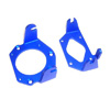 Blue Aluminum Engine Mount Set for Zenoah Engine