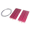 Red Aluminum Battery Cooling Board(2pcs)