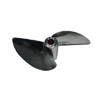 "Chrome Plated Aluminum Two-blade Propeller[Ø3/16""]-454(D54*P1.4)"