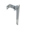 Medium Silver Aluminum Rudder