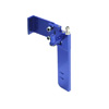 Small Blue Aluminum Rudder
