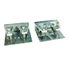 Silver Medium Trim Tab(1Pair)