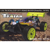 HSP(HISPEED) TROIAN 1/16th scale EP off-road buggy [94185]