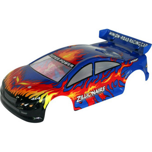1/16 On-road Car Body(NP & EP)-30*14cm