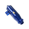 1/10 Blue Aluminum Adjustable Pipe - Type B