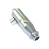1/10 Titanium Color Aluminum Adjustable Pipe - Type B [51911T]
