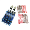 Blue Aluminum Shock Absorbers 4PCS(18T)