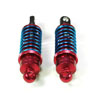Red Aluminum Shock Absorbers 2PCS(60mm)