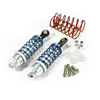 Silver Aluminum Shock Absorbers 2PCS(65mm)