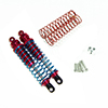 Red Aluminum Shock Absorbers 2PCS(100mm)