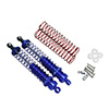 Blue Aluminum Shock Absorbers 2PCS(105mm) [58305B]