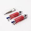 Silver Aluminum 1/18 Rear Shock Absorbers 2PCS(60mm)