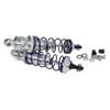 JATO Silver Aluminum Rear Shock Absorbers 2PCS