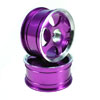 Purple 5-spoke Aluminum Wheels 1 pair(1/10 Car)