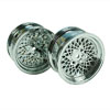 Silver Vintage Wheels 1 pair(1/10 Car, 3mm Offset)