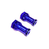 Blue Aluminum Wheel Adaptors [57881B]