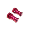 Red Aluminum Wheel Adaptors