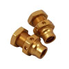 JATO 23mm Golden Aluminum Front Drive Adaptor