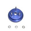 Blue Aluminum alloy flywheel