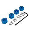 Blue Aluminum Wheel Adaptors