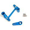 Blue Aluminum Steering Assembly