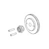Engine flywheel w/nut & pin(For LEO engine) [30119]
