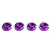 Savage Purple Aluminum Shock Retainer 4pcs