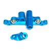 Mini Inferno Blue Aluminum Steering Assembly