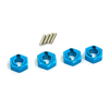 Mini Inferno Blue Aluminum Drive Adaptors