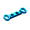 Mini Inferno Blue Aluminum Upper Arm Bulk for Front Gear Box