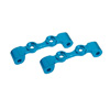 TT-01 Blue Aluminum Upper Arm Bulk for Front Gear Box